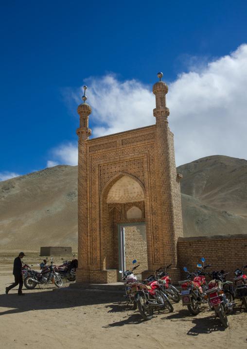 Subash Mosque Near Karakul Lake, Xinjiang Uyghur Autonomous Region, China