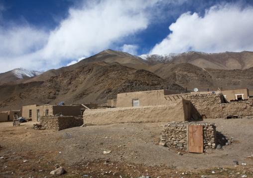 Kyrgyz stone Village, Tashkurgan, Xinjiang Uyghur Autonomous Region, China