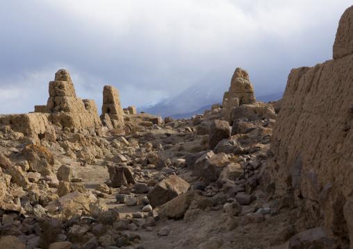 Ruins Of Tashkurgan Fort, Tashkurgan, Xinjiang Uyghur Autonomous Region, China
