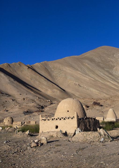 Kyrgyz Tombs Near Karakul Lake, Xinjiang Uyghur Autonomous Region, China