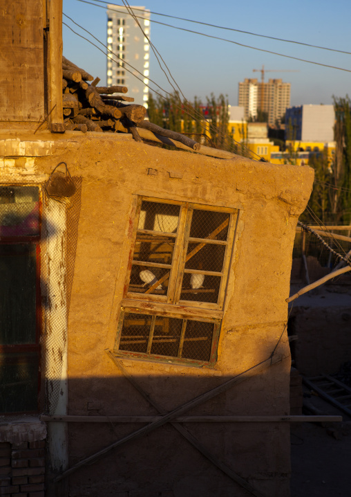 Pigeon House In Old Town Of Kashgar, Xinjiang Uyghur Autonomous Region, China