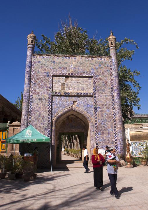 Entrance Of Abakh Hojam Tomb, Kashgar, Xinjiang Uyghur Autonomous Region, China