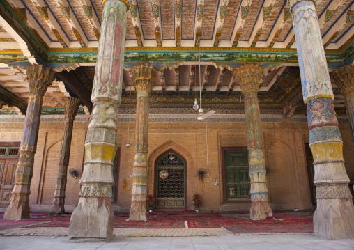 Mosque Of Abakh Hojam Tomb, Kashgar, Xinjiang Uyghur Autonomous Region, China