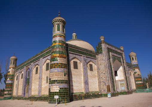 Abakh Hoja Tomb, Burial Place Of Muhatum Ajam, Kashgar, Xinjiang Uyghur Autonomous Region, China