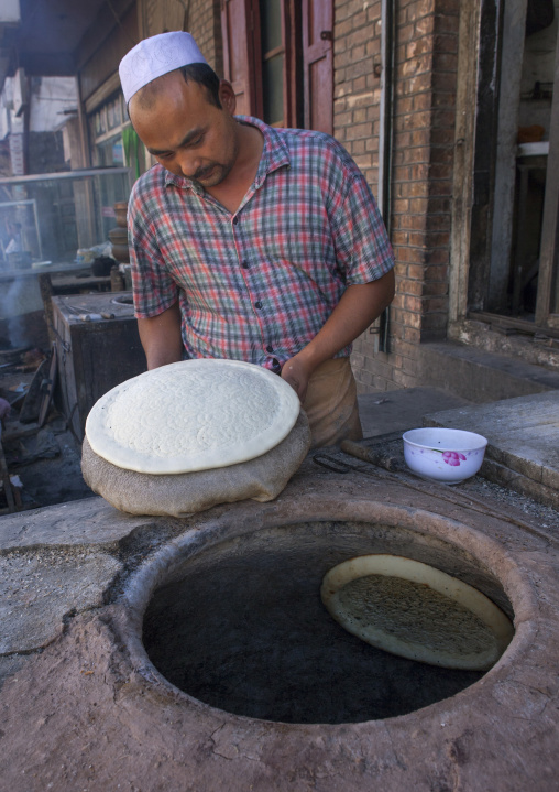 Bread Oven In Old Town Of Kashgar, Xinjiang Uyghur Autonomous Region, China