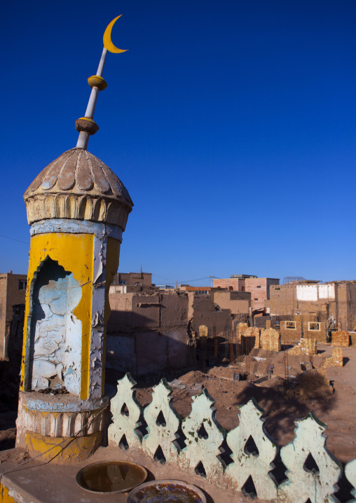 Mosque In The Demolished Old Town Of Kashgar, Xinjiang Uyghur Autonomous Region, China