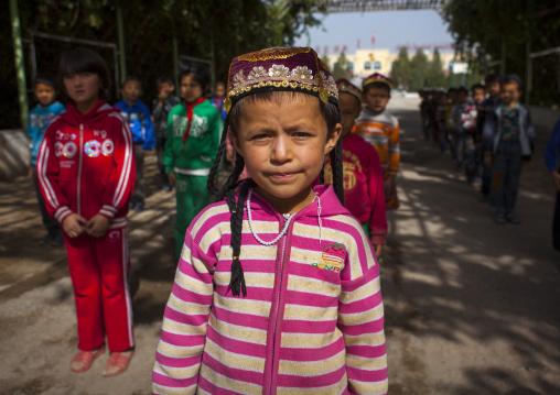 Uyghur Schoolkids, Xinjiang Uyghur Autonomous Region, China