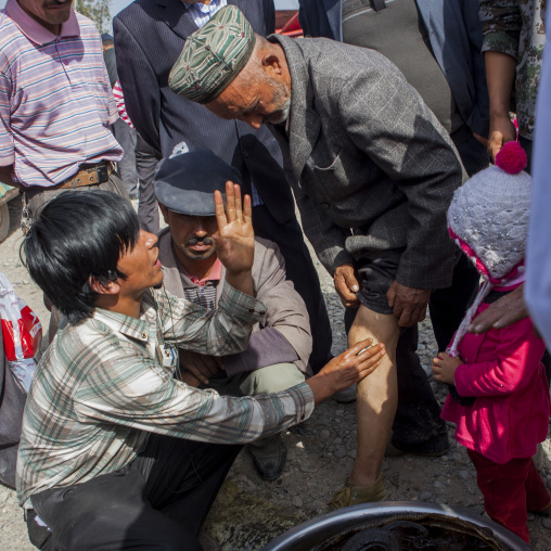 Miracle Cure, Opal Village Market, Xinjiang Uyghur Autonomous Region, China