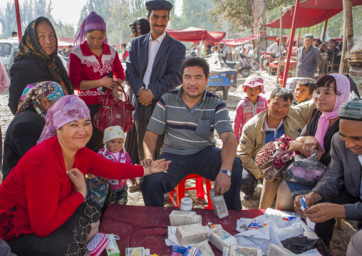 Drugs And Cures, Opal Village Market, Xinjiang Uyghur Autonomous Region, China