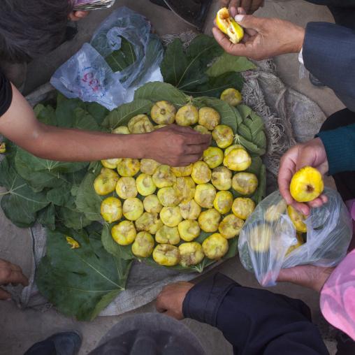 Figs In Opal Village Market, Xinjiang Uyghur Autonomous Region, China