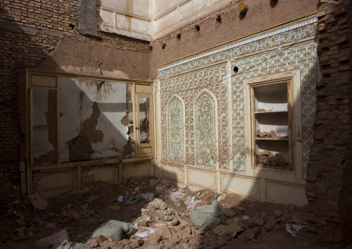 Demolished House In The Old Town Of Kashgar, Xinjiang Uyghur Autonomous Region, China