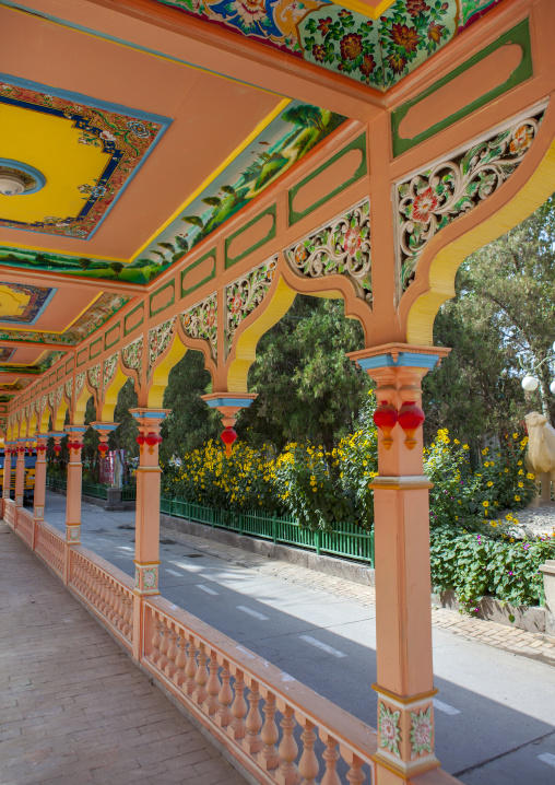 Seman Hotel corridor, Former Russian Consulate, Xinjiang Uyghur Autonomous Region, China