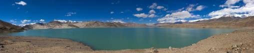 Panorama of Karakul Lake, Xinjiang Uyghur Autonomous Region, China