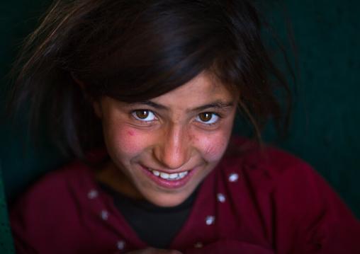 Smiling afghan girl, Badakhshan province, Zebak, Afghanistan