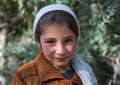 Portrait of an afghan girl, Badakhshan province, Ishkashim, Afghanistan