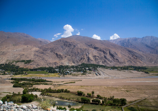 Tajikistan seen from the afghan border, Badakhshan province, Qazi deh, Afghanistan
