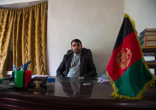 Local afghan governor, Badakhshan province, Khandood, Afghanistan