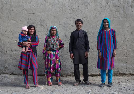 Afghan people with traditional clothing, Badakhshan province, Khandood, Afghanistan