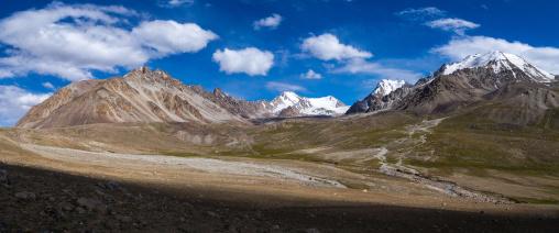 Pamir mountains panorama, Big pamir, Wakhan, Afghanistan
