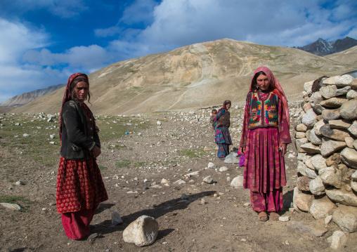 Wakhi nomad women, Big pamir, Wakhan, Afghanistan