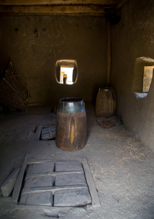 Granery in a pamiri house, Badakhshan province, Zebak, Afghanistan