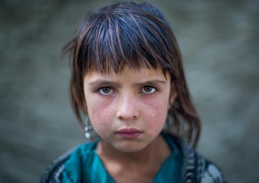 Portrait of an afghan girl from pamir, Badakhshan province, Qazi deh, Afghanistan