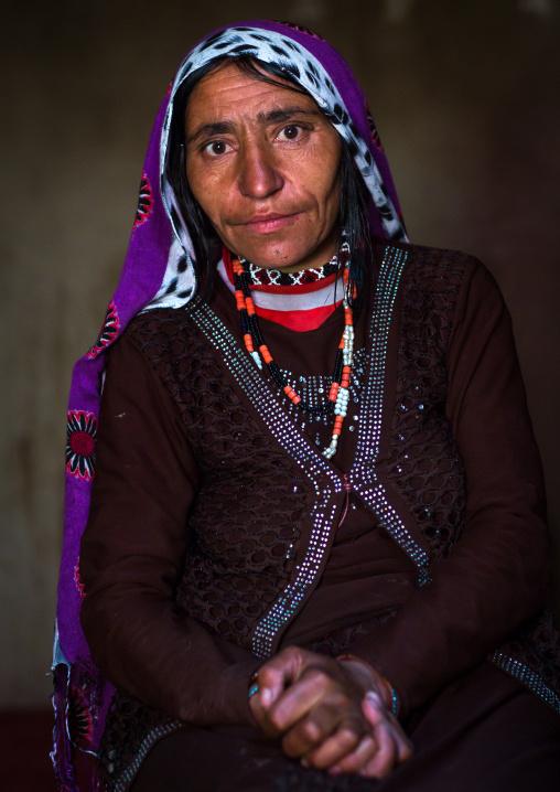 Portrait of an afghan woman, Badakhshan province, Zebak, Afghanistan