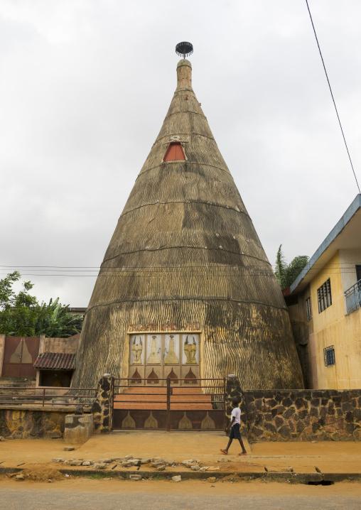 Benin, West Africa, Porto-Novo, zangbeto temple