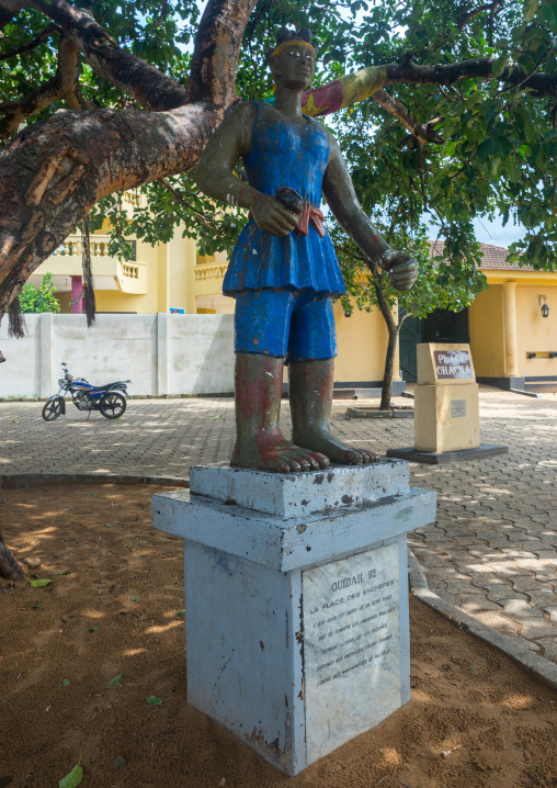 Benin, West Africa, Ouidah, chacha place for slave auctions
