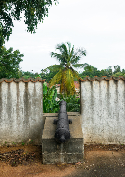 Benin, West Africa, Ouidah, historical museum housed in the old portuguese fort of st. john the baptist