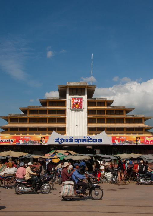 Phsar thom central market, Battambang province, Battambang, Cambodia