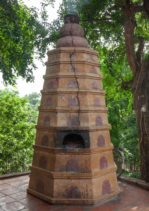 Incense burner in a temple, Phnom Penh province, Phnom Penh, Cambodia