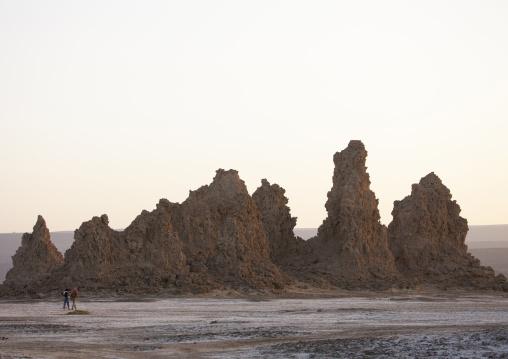 Rock Formations, Lake Abbe, Djibouti