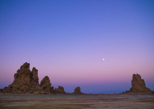 Landscape At Sunset, Lake Abbe, Djibouti