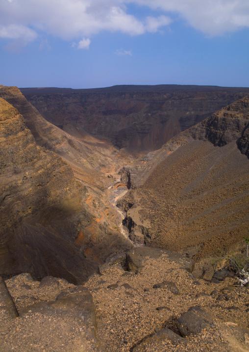 Canyon, Goubet Al-kharab, Djibouti