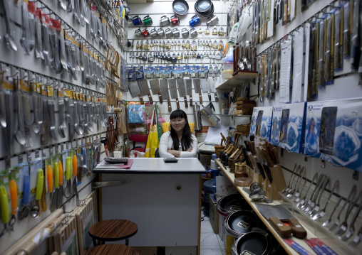Chinese Seller In Souk In Dubai