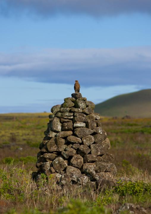 Pipi Horeko Taboo Tower, Easter Island, Chile