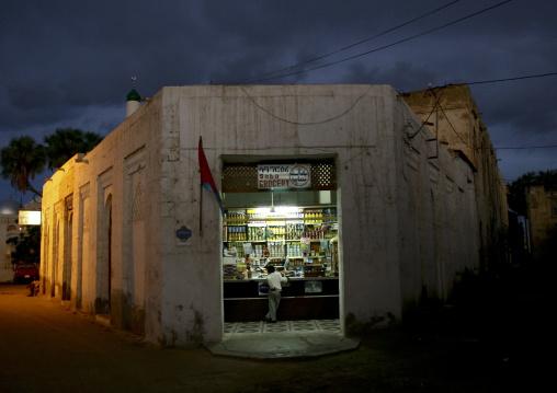 Shop In Old Massawa Streets, Eritrea
