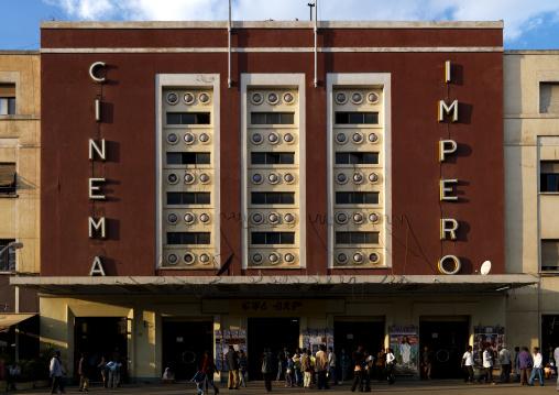 Eritrea, Horn Of Africa, Asmara, cinema impero on harnet avenue