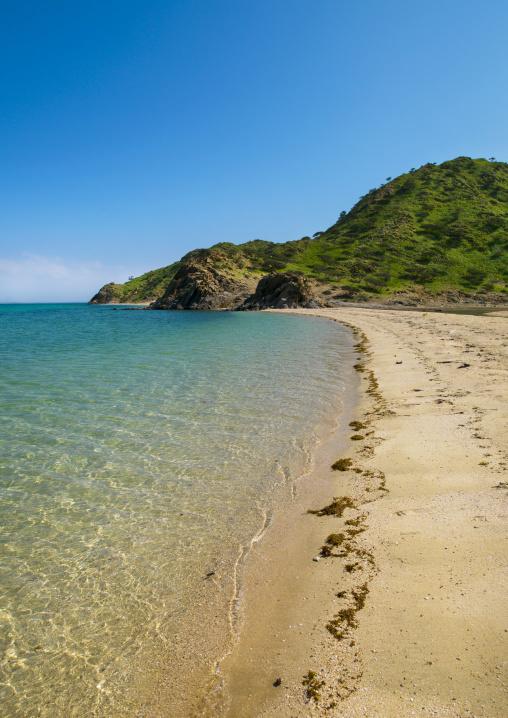 Eritrea, Horn Of Africa, Dahlak, beach on dahlak archipelago
