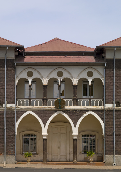 Bank Of Eritrea Building, Asmara, Eritrea