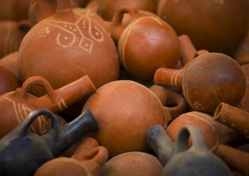 Coffee Pots In Keren Market, Eritrea