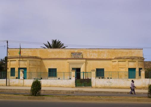 Old Italian Building In Dekemhare, Eritrea