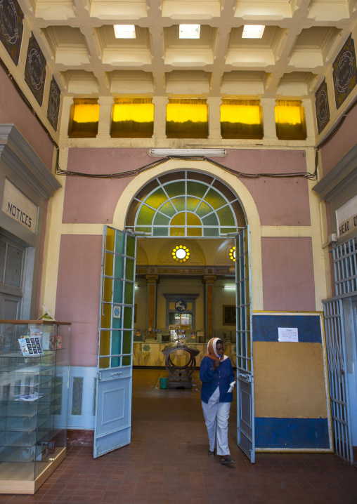 Central Post Office, Central region, Asmara, Eritrea