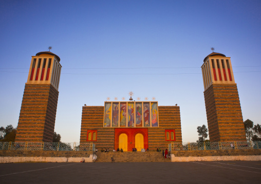Enda Mariam Orthodox Cathedral, Asmara Eritrea, Central region, Asmara, Eritrea