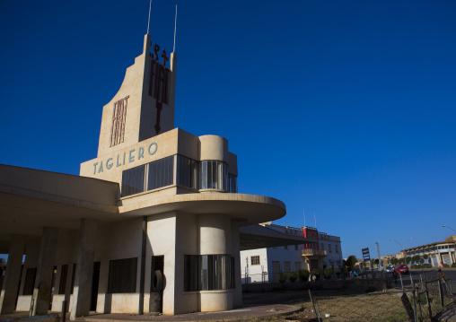 Fiat Tagliero Garage And Service Station, Central region, Asmara, Eritrea