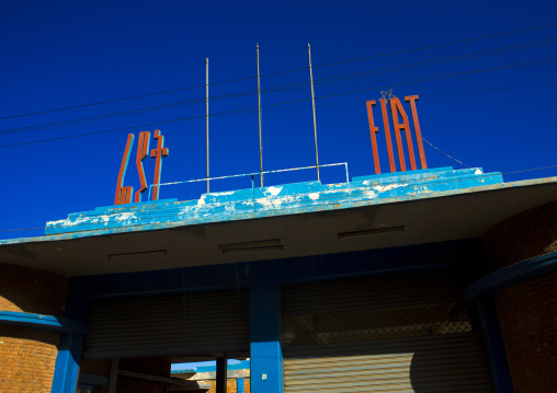 Fiat  Garage, Central region, Asmara, Eritrea