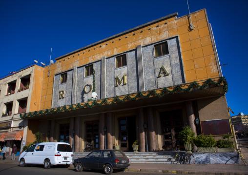 Old Roma Italian Cinema, Central region, Asmara, Eritrea
