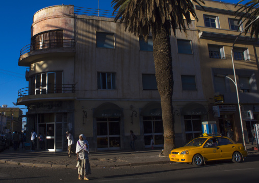 Art Deco Building On Harnet Avenue, Central region, Asmara, Eritrea