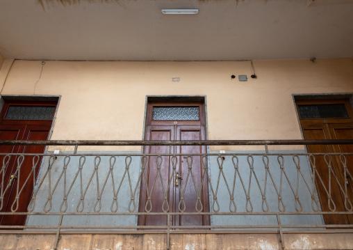 Floor in an art deco italain building, Central region, Asmara, Eritrea